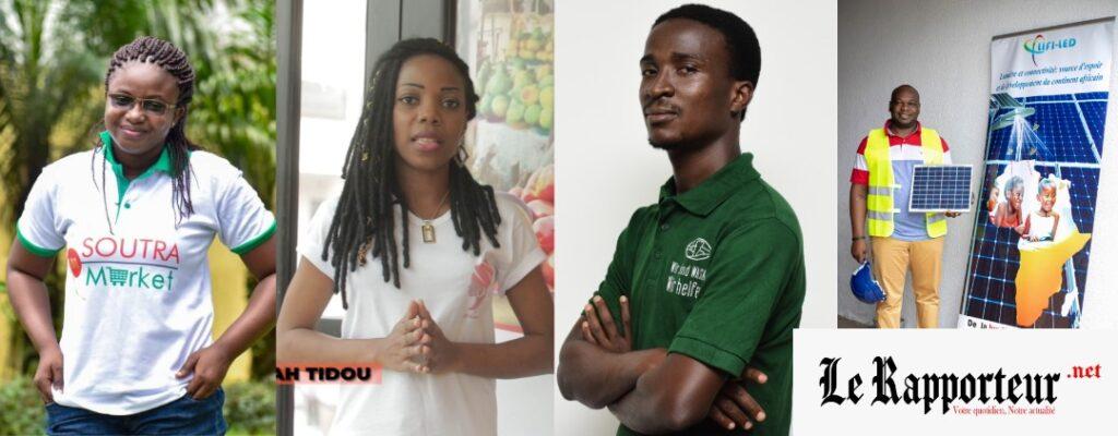 quatre (4) startups ivoiriennes retnues pour Africa by IncubMe