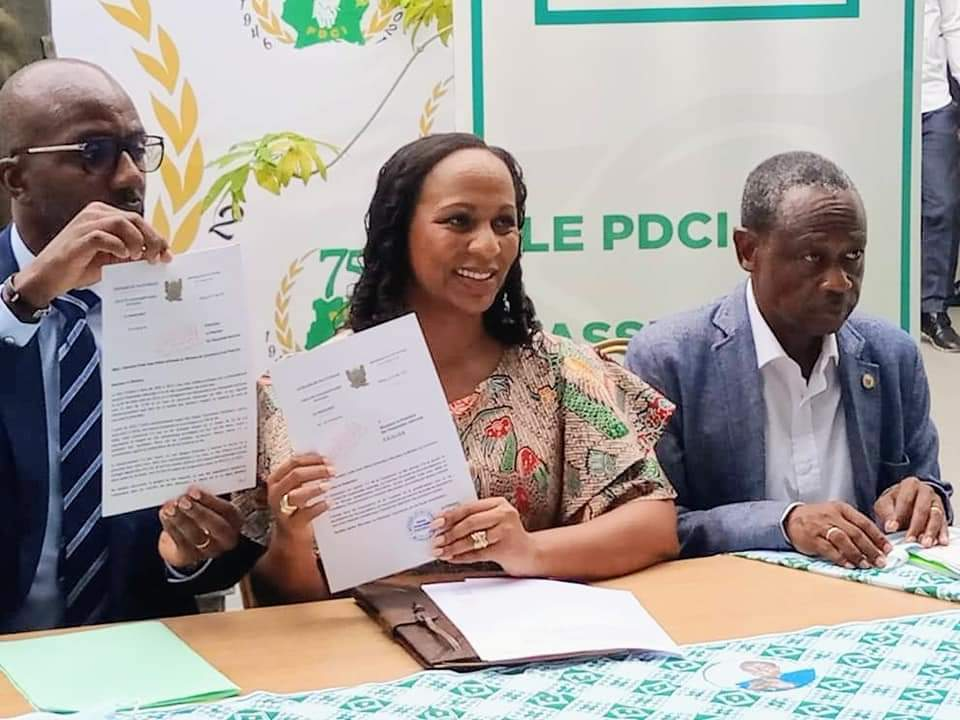 Le groupe parlementaire  PdciPdci
