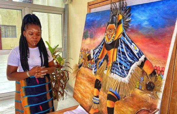 «Jackpot Ivoire», l'œuvre de Judith Gnassa pour le Lydia ludic talents