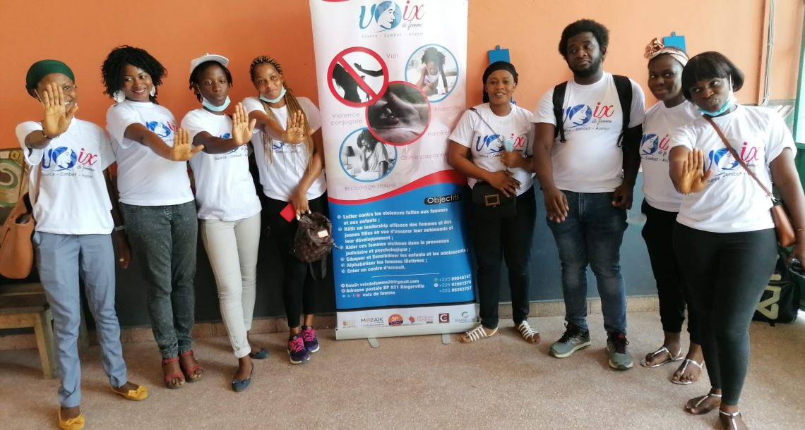 VBG en milieu scolaire, L'ONG voix de femme combat